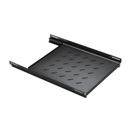 1U Vented 4-post Sliding Shelf Depth Adjustable