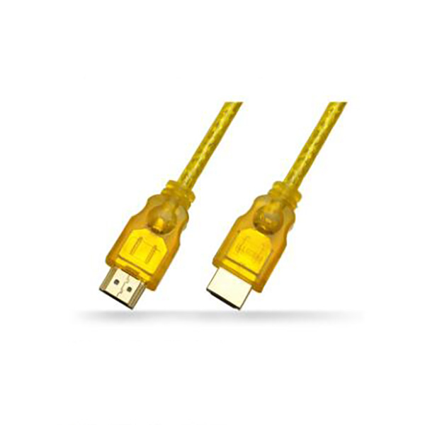 Transparent HDMI A Type MALE TO A Type MALE