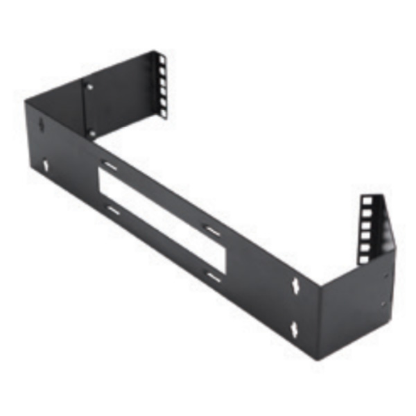 Hinged Wall-Mount Patch Panel Bracket