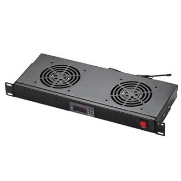 1U Digital Temperature Unit with Cooling Double Fans