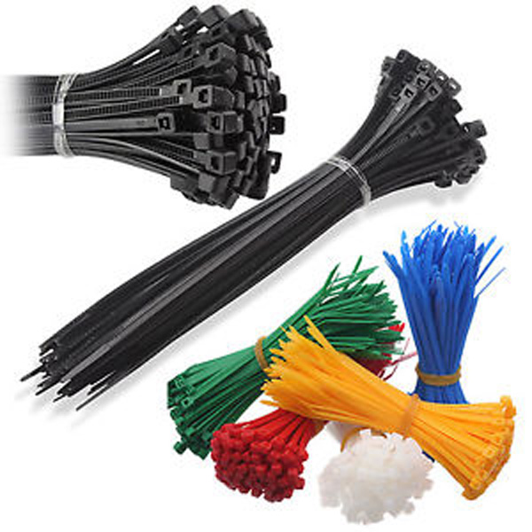 Multi-Purpose  Heavy Duty Self-Locking Nylon Zip Cable Ties